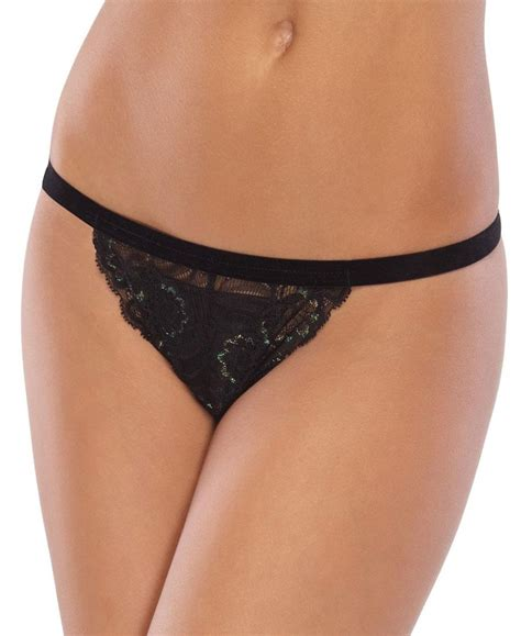 crotchless with crotchless stretch lace with center front satin bow