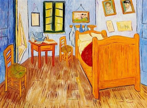 the bedroom van gogh painting vincent van gogh bedroom in arles 36x48 oil painting