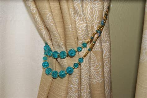 how to make curtain tie backs with beads tiebacks fabrictherapy