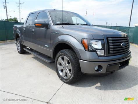 2011 sterling grey metallic ford f150 fx4 supercrew 4x4 65228876 gtcarlot car color