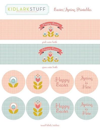 printable easter stickers 33 best easter labels easter label templates images on