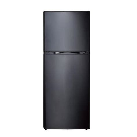 vissani 24 in w 10 cu ft top freezer refrigerator in