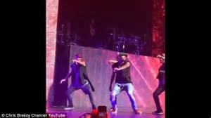 Chris Brown Wardrobe by Chris Brown S Gets Torn On Stage Ng Trends