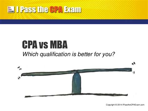 Which One Is Better Mba Or by Cpa Qualification Vs Mba Degree Which Is Better