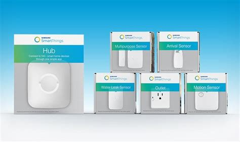 samsung launches smartthings home automation hub with