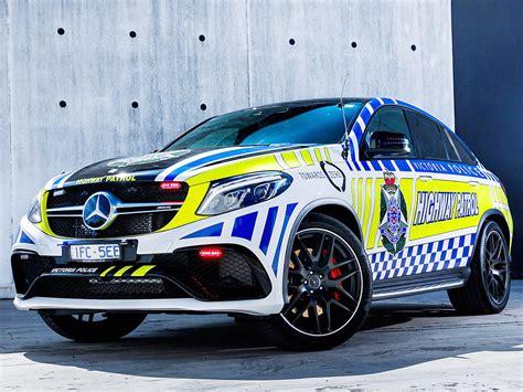 mercedes amg gle   coupe polizeiauto autozeitungde