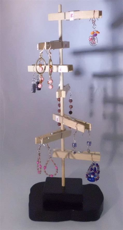 Handmade Jewelry Display Ideas - 17 best ideas about diy earring holder on diy