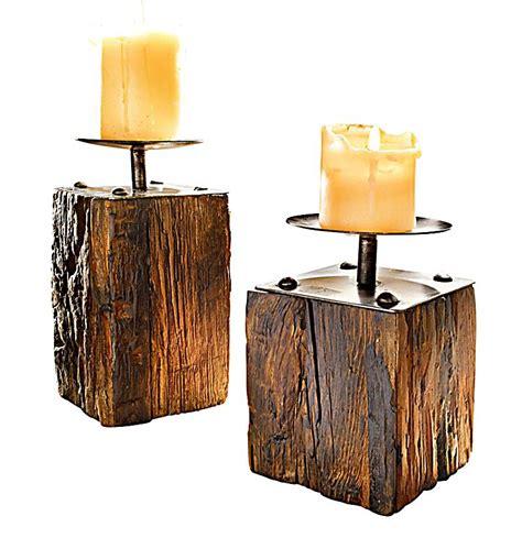 kerzenhalter set kerzenhalter set wood 2 teilig jetzt bei weltbild de