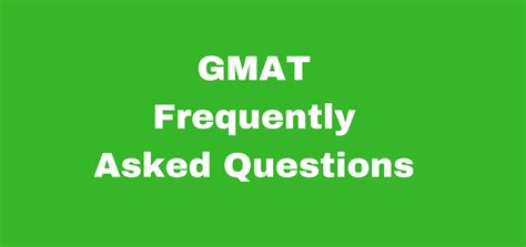Usd Mba Gmat by Gmat Frequently Asked Questions Jamboree India
