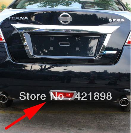 nissan altima light cover for nissan altima 2013 2014 2015 2016 abs chrome rear fog