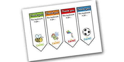 thank you bookmark template editable thank you bookmark bookmark bookmark template