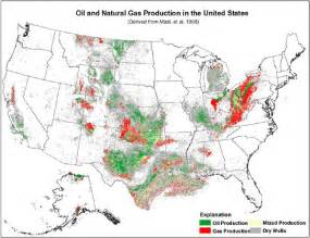 Where in the united states are oil and gas resources concentrated