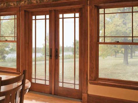 andersen doors both doors outswing patio doors asher eau menomonie chippewa
