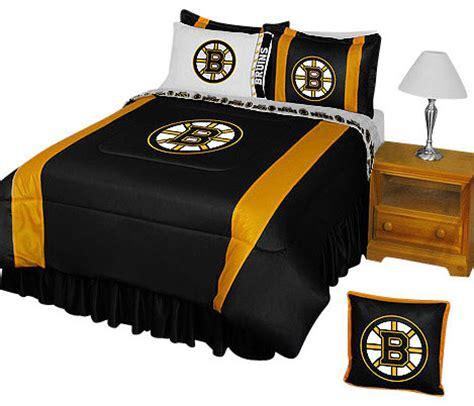 Boston Bruins Comforter by Nhl Boston Bruins Comforter Pillowcase Hockey Bedding