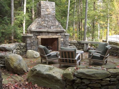 fireplace  garden prefab outdoor wood burning prefab