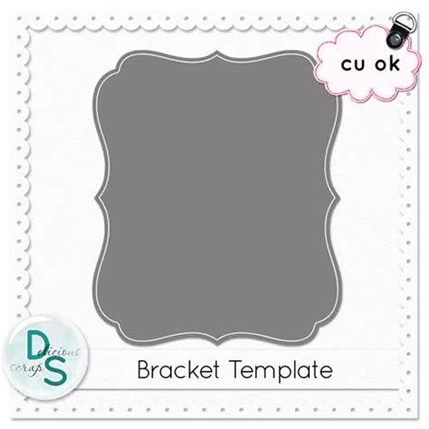 bracket card template free png templates transparent templates png images pluspng