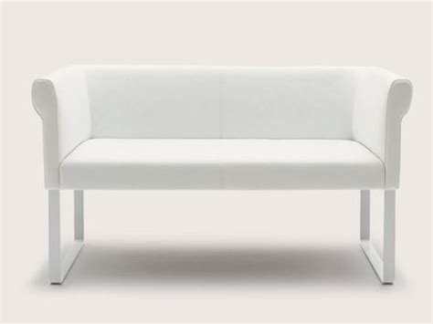 upholstered bench small sofa quant collection by cor
