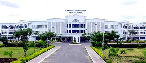 Cat Mba Colleges Fees by C Abdul Hakeem College Of Engineering And Technology