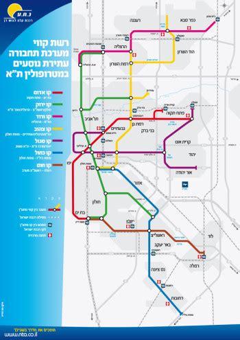 jerusalem light rail map tel aviv cheers new subway bemoans its construction