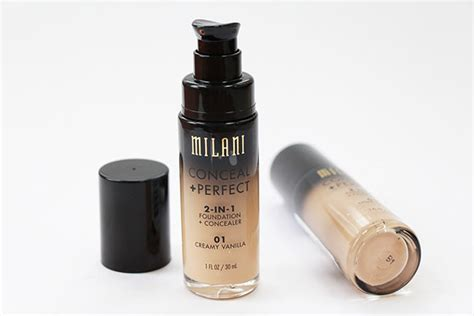 Milani Concealperfect 2 In 1 Foundation milani conceal 2 in 1 foundation and concealer review makeupguineapig
