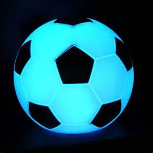 football lights creative ideas nightlight strange football colorful