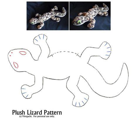 felt lizard pattern plush lizard pattern pillows softies some to make