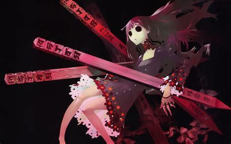 anime girl creepy wallpaper creepy anime wallpaper wallpapersafari