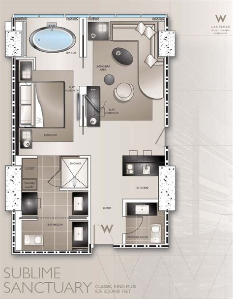 hotel plant room layout typical w hotel guestroom plans google search piltown