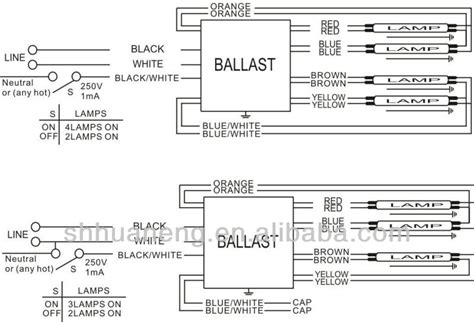 4 l t5 ballast wiring diagram 4 free engine image for