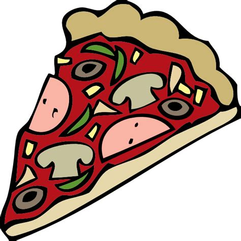 pizza clipart pizza slice clip at clker vector clip