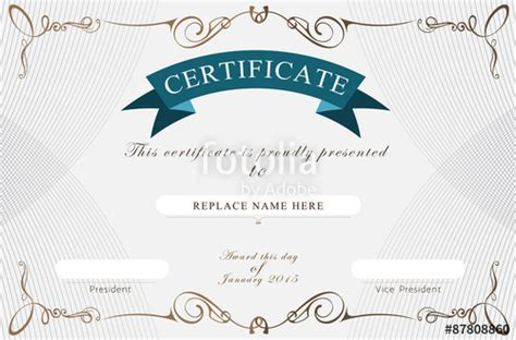 coreldraw templates certificates certificate template coreldraw image collections