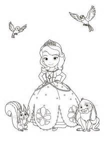 sofia coloring pages sofia the coloring pages for to print for free