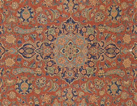 lot 248 kashan area rug c 1920 30