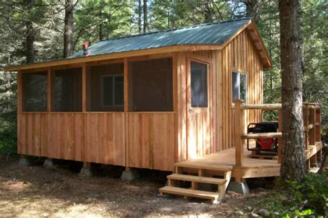 Cabin Sheds by Cut Sheds Tiny House Design