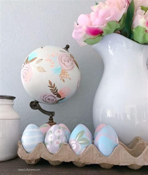 painted eggs pinterest diy painted faux easter eggs