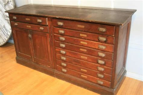 Antique Map Cabinet by Surveyor S Bureau 1905 Multi Drawer Map Cabinet At 1stdibs