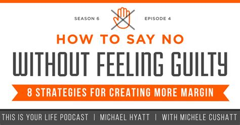 Feeling Guilty No More by Season 6 Episode 4 How To Say No Without Feeling Guilty