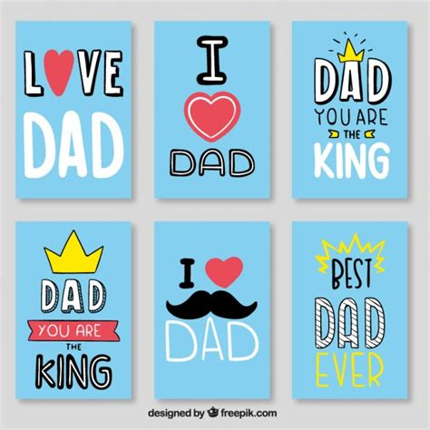 23 best images about dad s house on pinterest search blue best dad card set vector free download