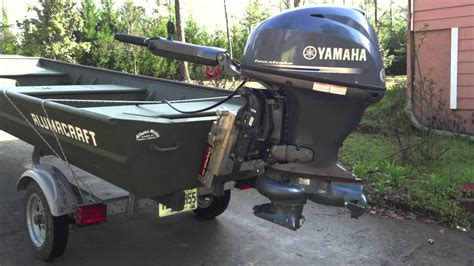 yamaha jon boat motors yamaha jet motor for river application youtube