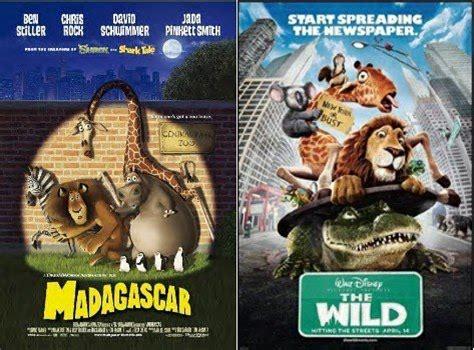 film disney wild rum tinted glasses madagascar vs the wild