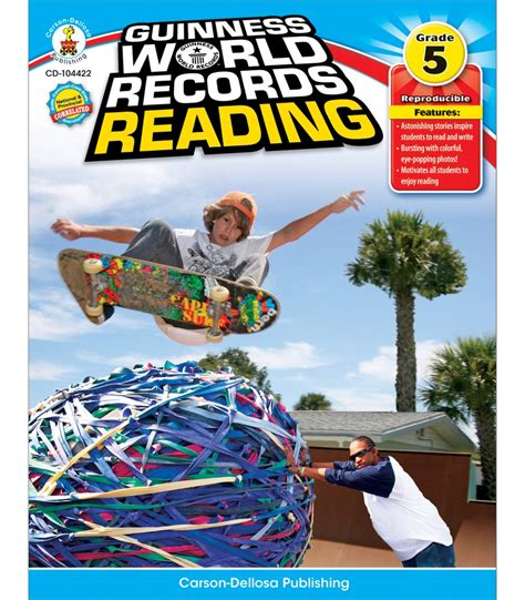 guinness world records science stuff books guinness world records 174 reading resource book carson
