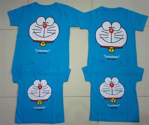 Baju Kembaran Family Doraemon Imlek jual baju family fm2 blue doraemon model terbaru 2018