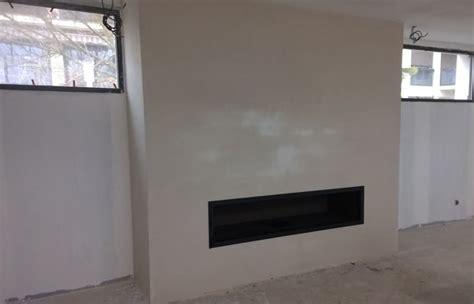 platre refractaire cheminee chemin 233 e de salon 224 foyer ouvert toulouse design sur mesure