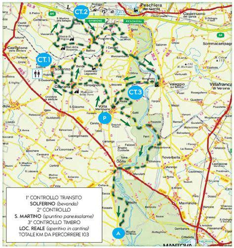 mappa volta mantovana 3 176 motogiro delle colline moreniche volta mn 10 04