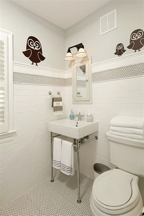 children s bathroom tiles 20 inspirations that bring home the beauty of penny tiles