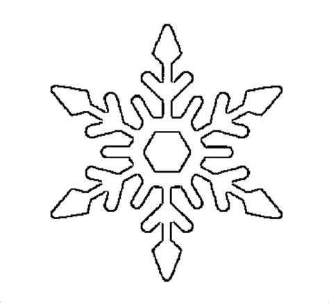 printable free snowflakes 17 snowflake stencil template free printable word pdf