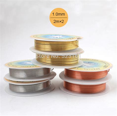 Roll Meter 75m Blitz Oranye 2pcs thickness 0 5mm 24 silver gold colored rustless iron wire for jewelry crafts soft