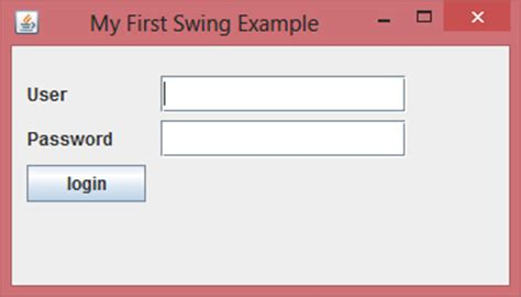 jframe swing java swing tutorial for beginners