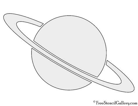 Image Gallery Saturn Stencil Planet Stencils Printable