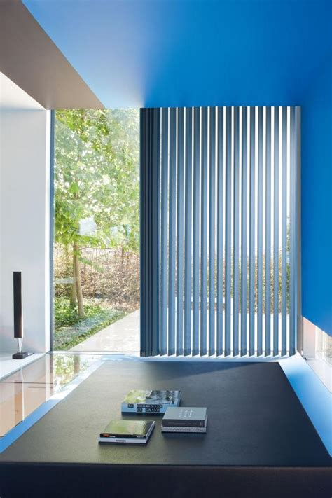 geperforeerde aluminium jaloezieen raamdecoratie voor ruimtes met beeldschermen copahome